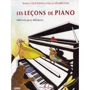 Les Leçons de piano de Béatrice Quoniam