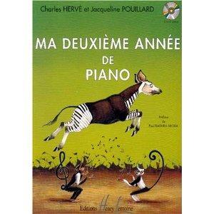 Ma 2ème année de piano par Charles Herve