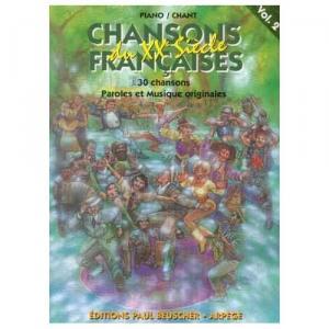 Chansons francaises du 20eme siecle volume 2