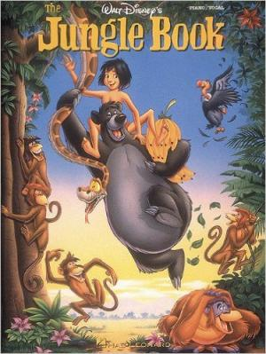 Disney - Le livre de la jungle Piano facile P/V/G