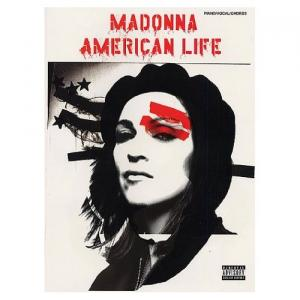 Partition Madonna American Life Piano/Vocal/Chords