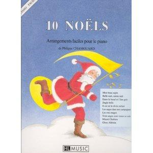 10 Noëls - arrangements faciles pour piano