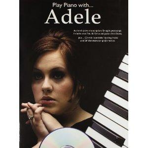Play Piano With Adele + Cd