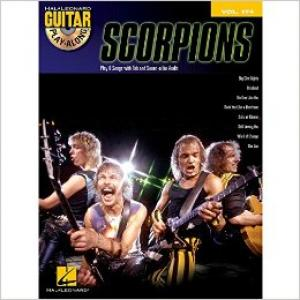 Scorpions Guitar Play-Along Volume 174