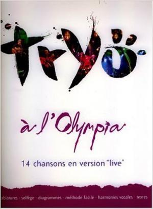 Tryo Tablatures 14 Chansons Live à l'Olympia