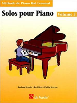 Solos pour Piano volume 3
